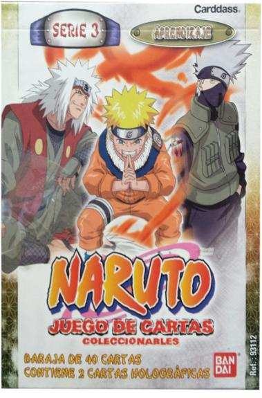 CARD GAME NARUTO Series 3-deck 40 Letters Containing 2 Letters Holographic