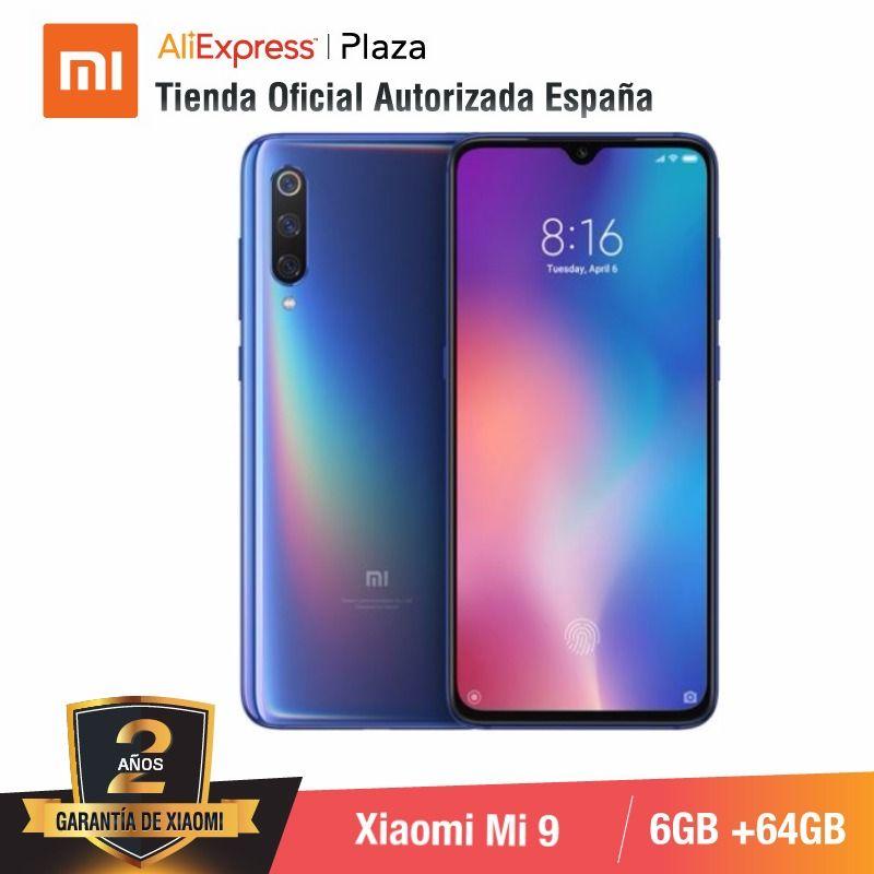 Фото. Глобальная версия для Испании] смартфон Xiaomi Mi 9 Memoria interna de 64 ГБ, ram de 6 ГБ, Triple c