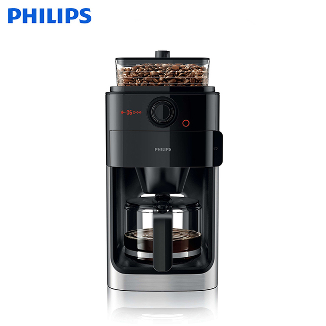 Кофемашина Philips Grind & Brew HD7767/00