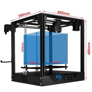 Image 4 - Twotrees 3d impressora sapphire pro completo metal profissional diy núcleo xy bmg extrusora 235x235m tela de toque de 3.5 polegadas com facesheid