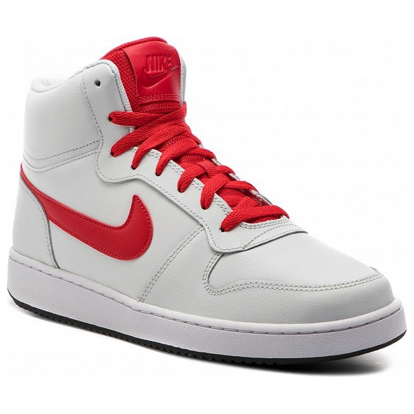 Basketball Shoes for Adults Nike Ebernon Mid White Red image