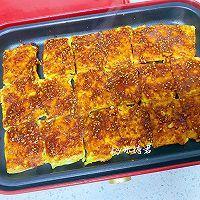 平底锅版铁板脆皮豆腐,赛过路边摊的做法图解10
