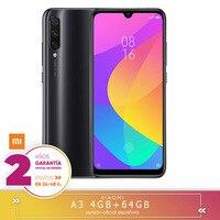 [Official Spanish Version Warranty] Xiaomi Mi A3 Smartphone Snapdragon 665 4 hard GB 64 hard GB 48.0MP + 8.0MP + 2.0MP 3 still cameras rear