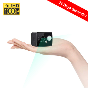 2020 new Mini Camera 1080P Portable Security Cam 8 Hour Recording 25 Days Long Standby Support PIR Motion Detection Night Vision(China)