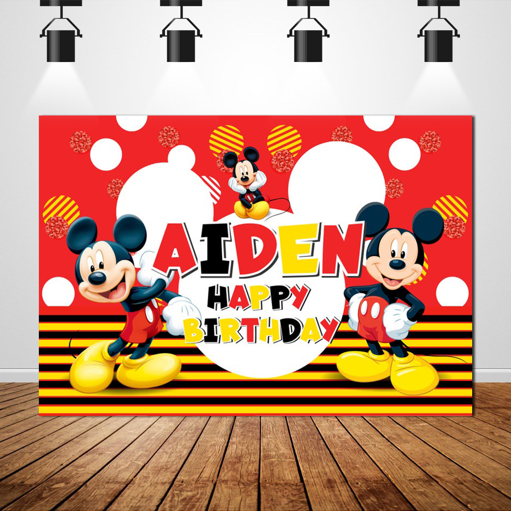 "Birthday Decoration Name Backdrop /""Spiderman/"" Theme Background Photo"