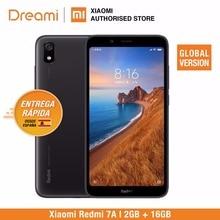 글로벌 버전 Xiaomi Redmi 7A 16GB ROM 2GB RAM (신규 및 밀폐) 7a 16gb