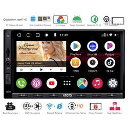ATOTO S8 Android Автомобильная стерео медиасистема, S8G2A75P, мощный Soc, телефонная связь, ультра чистый QLED дисплей, QC3.0 зарядка и многое другое