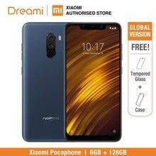 הגלובלי גרסת Xiaomi Pocophone F1 128GB ROM 6GB RAM, איחוד אירופי גרסה (חדש לגמרי וחתום) smartphone נייד