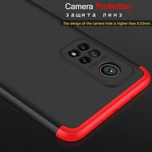 Image 3 - חדש 3 ב 1 מגן מצלמה זכוכית 360 מקרה עבור Xiaomi Mi 10t פרו 5G קשיח מחשב שחור מכסה עבור xiaomi mi 10t פרו לייט mi10t mi 10