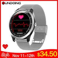 RUNDOING N58 EKG PPG smart watch mit ekg ekg display, holter ekg herz rate monitor blutdruck smartwatch