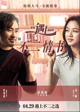 北京遇上西雅图之不二情书的海报