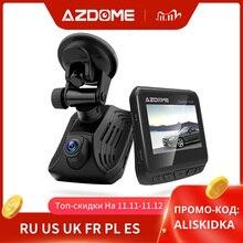 AZDOME DAB211 Ambarella A12 kamera do deski rozdzielczej samochodu 1440P Super Night Vision Dashcam kamera do rejestracji wideo DVR wbudowana GPS ADAS nagrywania w pętlę