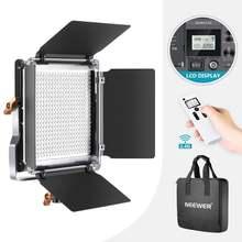 Neewer Улучшенный 24g 480 led видео свет приглушаемая двухцветсветодиодный
