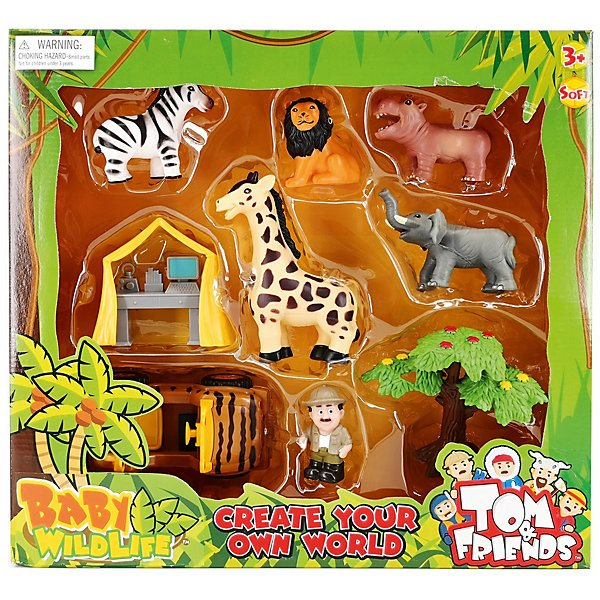 Jeu set jouet majeur animaux sauvages