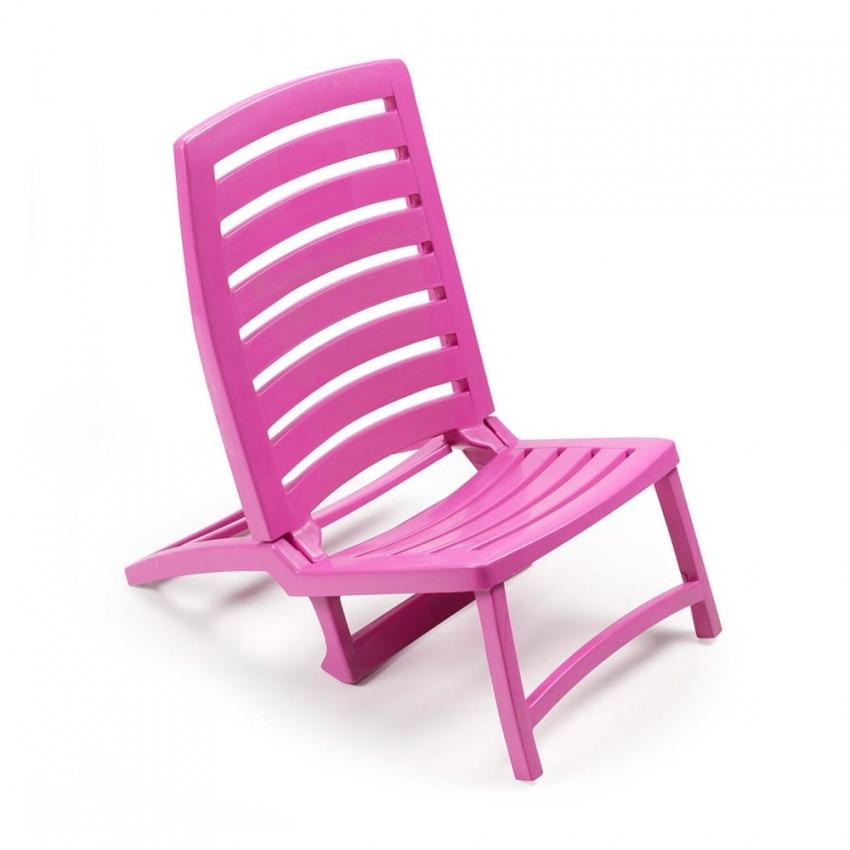 Beach Chair Folding Rio Pink 42x58x64cm Landscraft.com