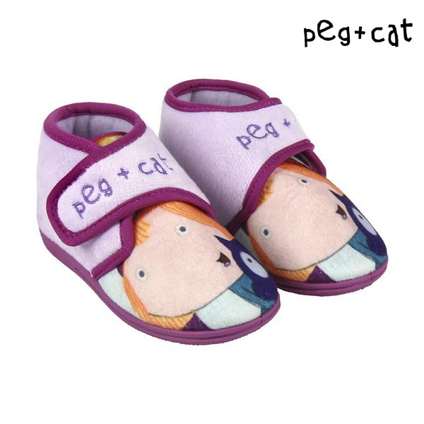House Slippers Peg + Cat 73320 Lilac   - title=