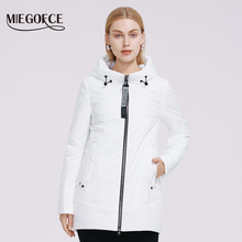 Spring Jacket Quilting Hooded Women Coat Windproof Classic Sport MIEGOFCE Parka Quality-Filler