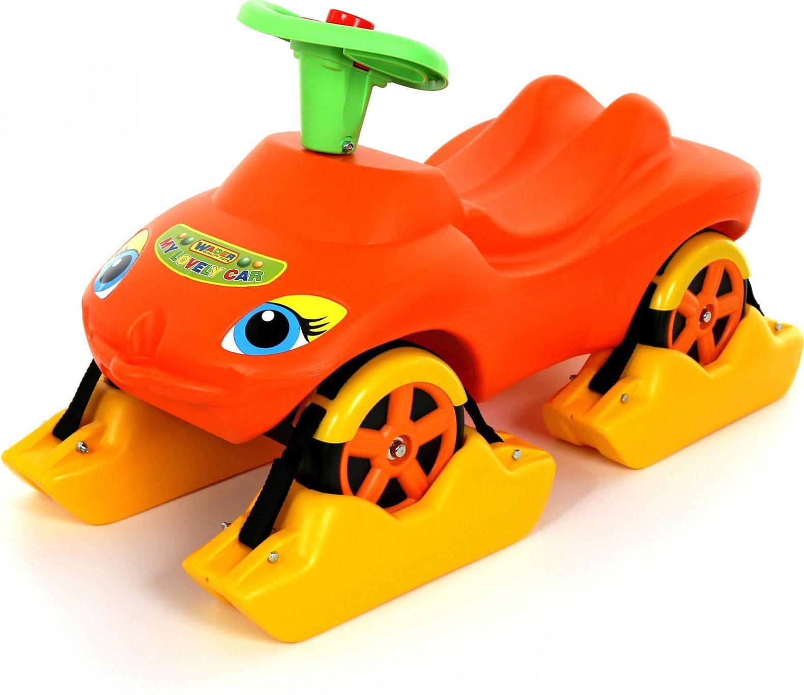 Wheelchair My favorite car orange with snooze multifunction my favorite bear