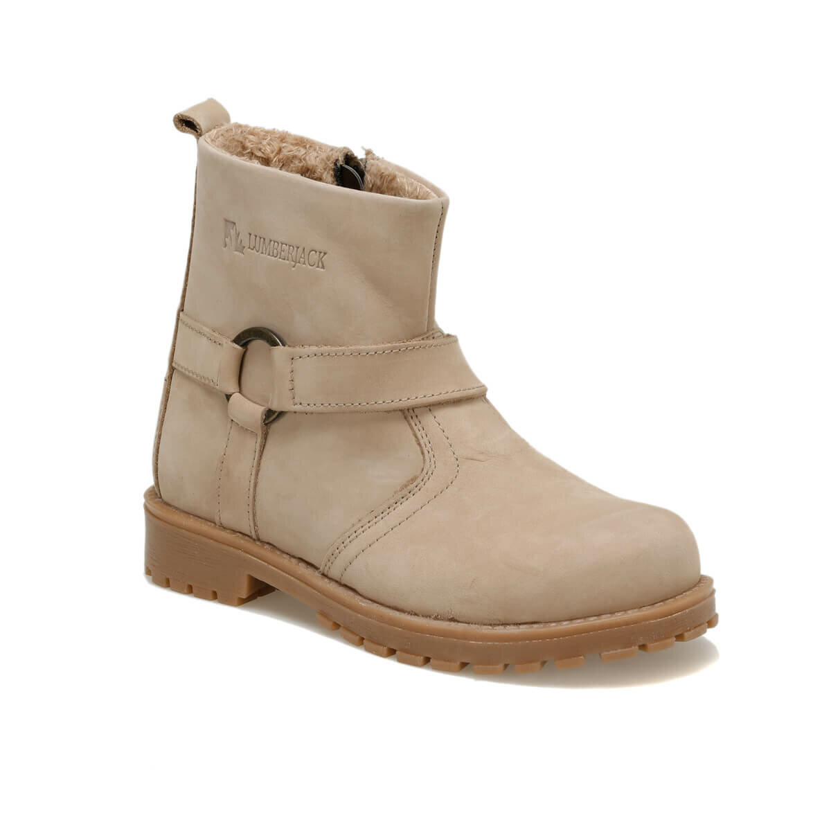 FLO SON 9PR Sand Color Female Child Boots LUMBERJACK