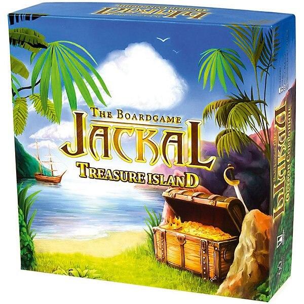 """Jeu de société Jackal: l'île au trésor """", Magellan"""