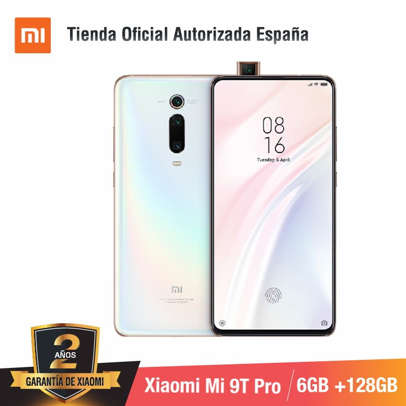 Global Versão para Espanha] Xiao mi mi 9T PRO (Memoria interna de 128 GB, RAM de 6 GB, Triple MP con cámara de 48 IA) smartphone