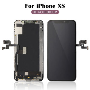Image 2 - עבור iPhone X XR XS OEM LCD מגע מסך גמיש OLED סופר AMOLED תצוגת Digitizer עצרת שחור & לבן