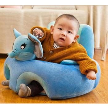 Baby Infants Sofa Seat Cover baby seat for Comfort Support Chair Delicate Feel No Hair Loss No Color Loss for Learning to Sit