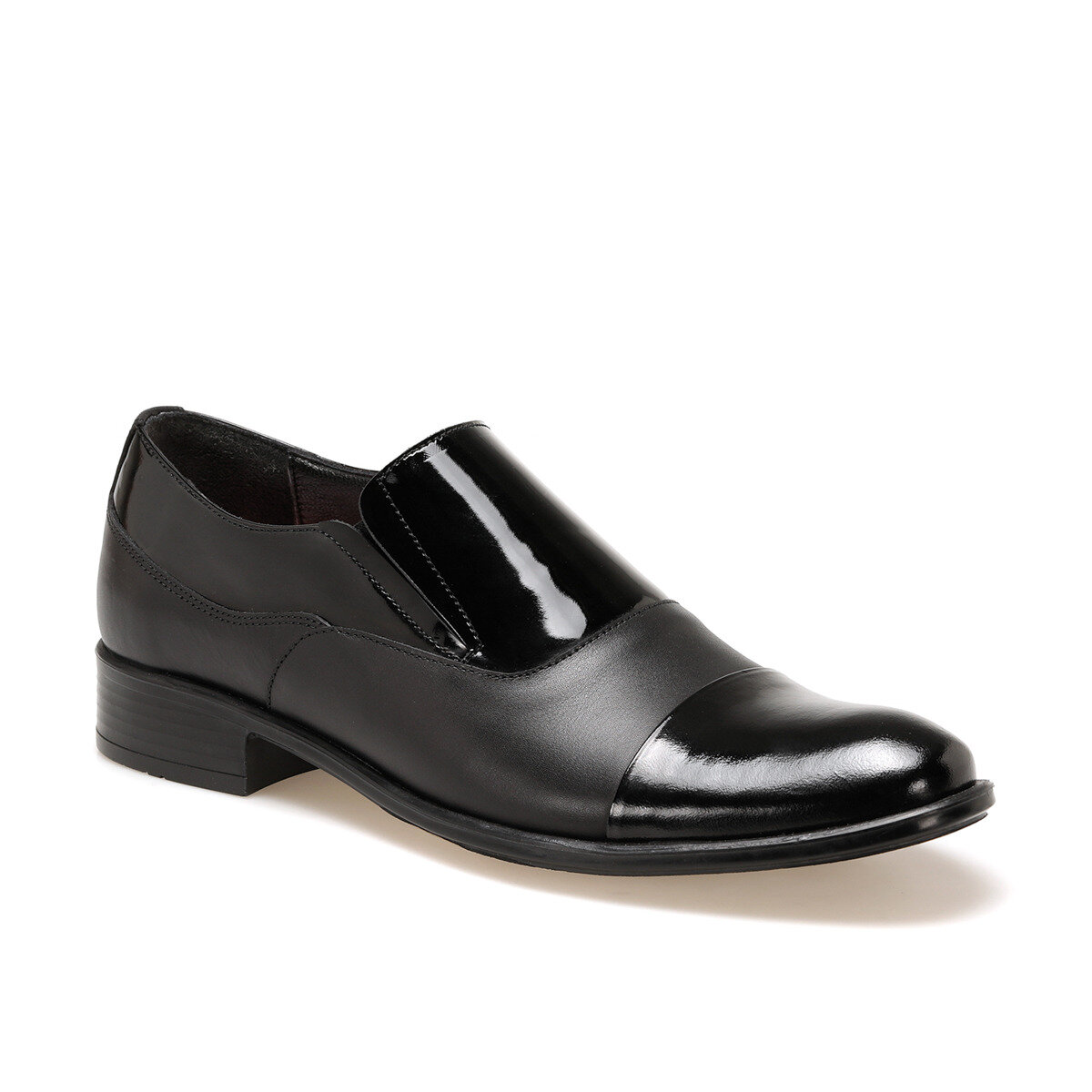 FLO 409-2 Black Men Mocassin Garamond