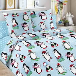 Baby beddengoed 1,5 CN Letto, Pinguïn MTpromo