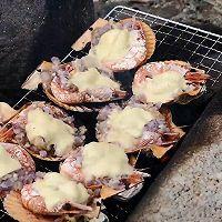 芝士烤加拿大北极虾扇贝的做法图解11