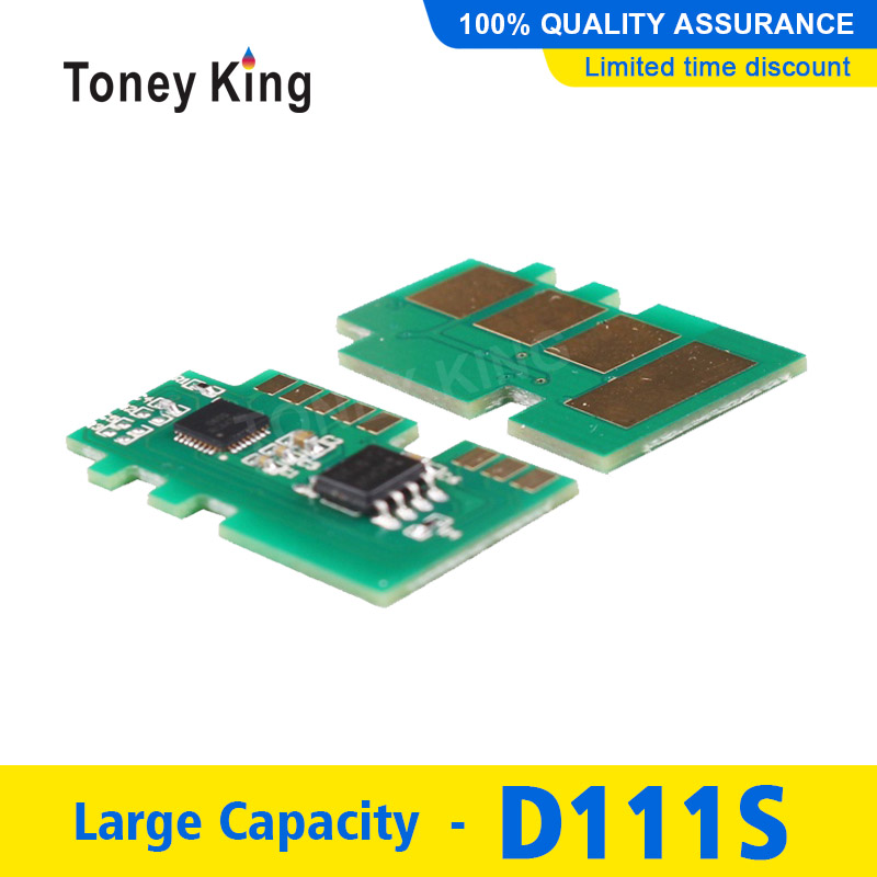 Toney King 1PCS mlt-d111s mlt d111s d111 Black Toner Chip for Samsung <font><b>Xpress</b></font> SL-<font><b>M2020W</b></font> SL-M2070W <font><b>M2020W</b></font> M2022 M2070 M2071 image