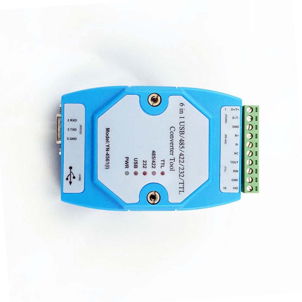 Taidacent YN4561I CP2102 Converter USB/485/422/232/TTL Serial Port Module USB To RS485 Isolated Converter USB To Uart Adapter