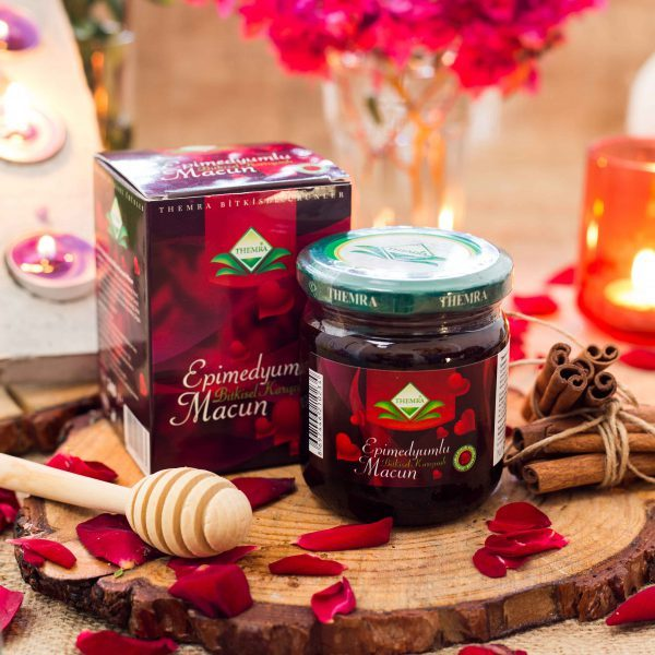 Themra Epimedium Turkish Honey Mix Macun Horny Goat Weed Ginseng Herbal Aphrodisiac– Turkish Paste (4 x 240 gr), %100 Halal 2