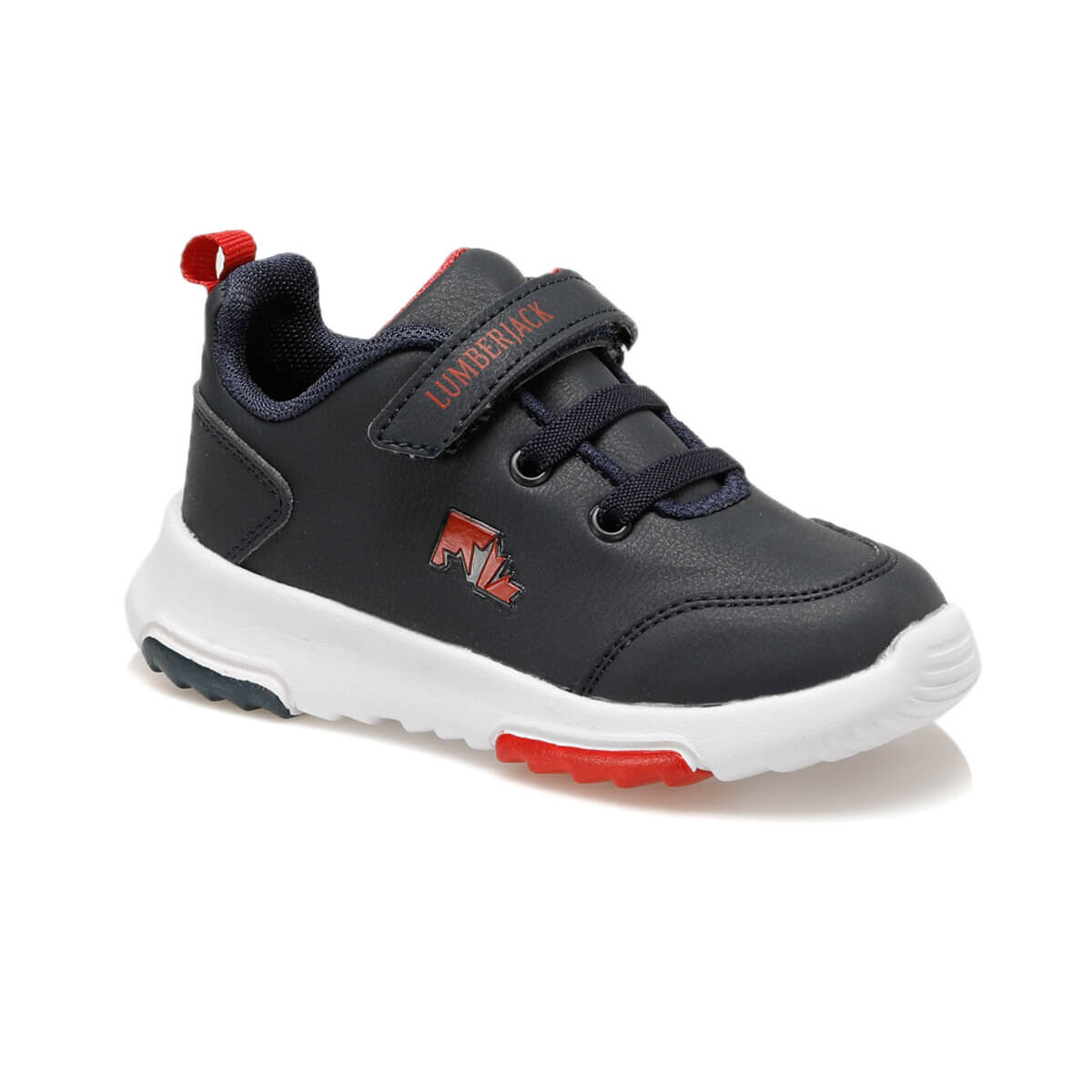 FLO THOR 9PR Navy Blue Male Child Hiking Shoes LUMBERJACK