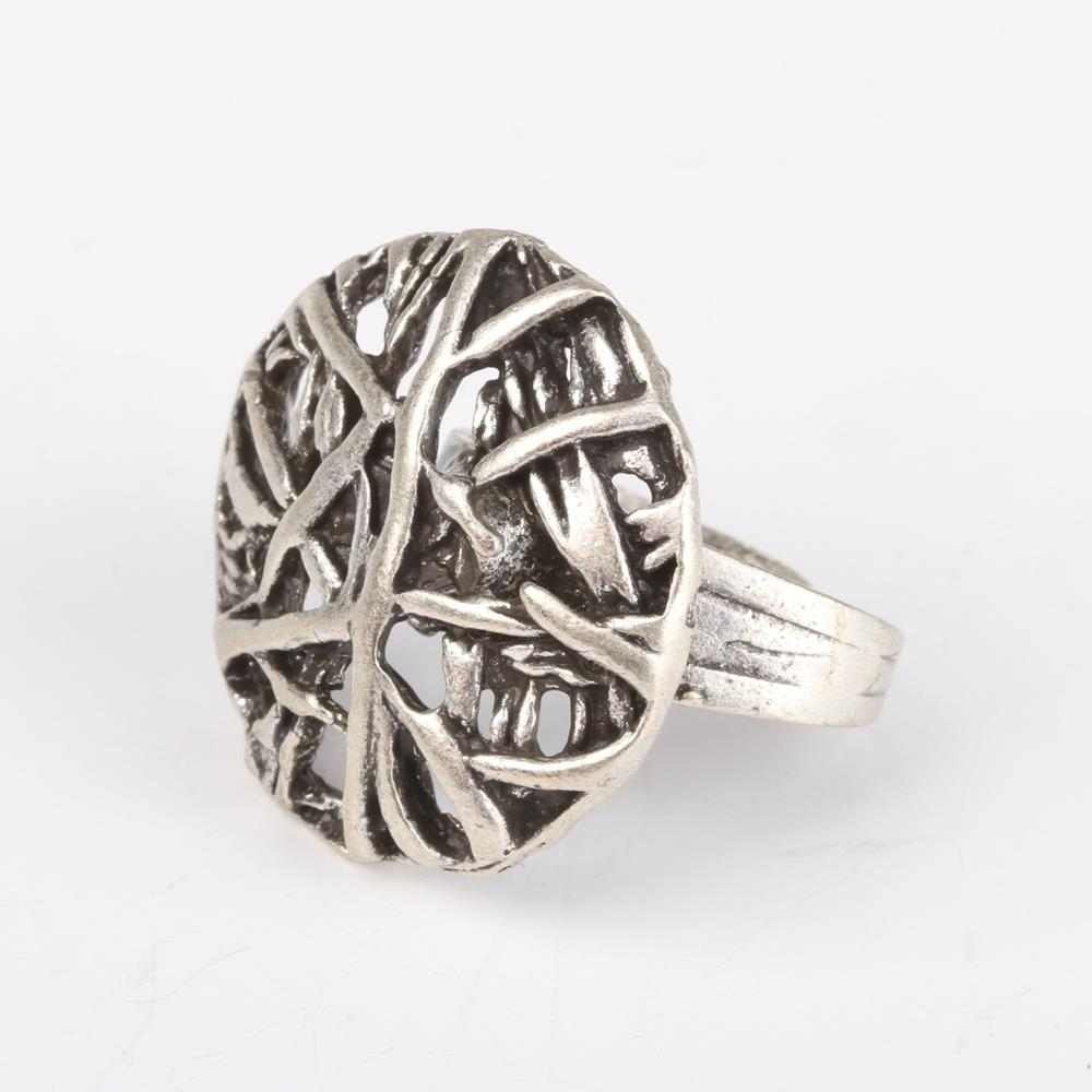 Silver Plated Ottoman Ring()