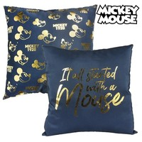 Cushion Mickey Mouse 74511 Navy blue (40 X 40 cm)|Night Lights|   -