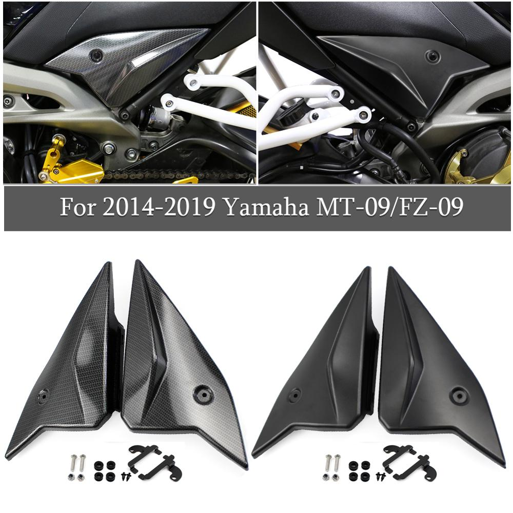 Side Panel For <font><b>Yamaha</b></font> MT09 FZ09 <font><b>MT</b></font>-09 FZ-09 <font><b>MT</b></font> FZ 09 Seat Cover Fairing Cowling Plate 2014 2015 2016 2017 2018 Motor Accessories image