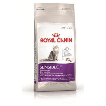 Royal Canin Sensible 33 Cat Food For Sensitive Digestive Cats 2 Kg Healthy Growth Feeding Pet Immunity Flora Support