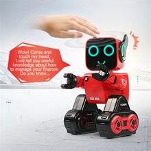Rc robô cady wike-k3 gesto sensing toque inteligente programável andando dança original marca diversão brinquedo inteligente para crianças