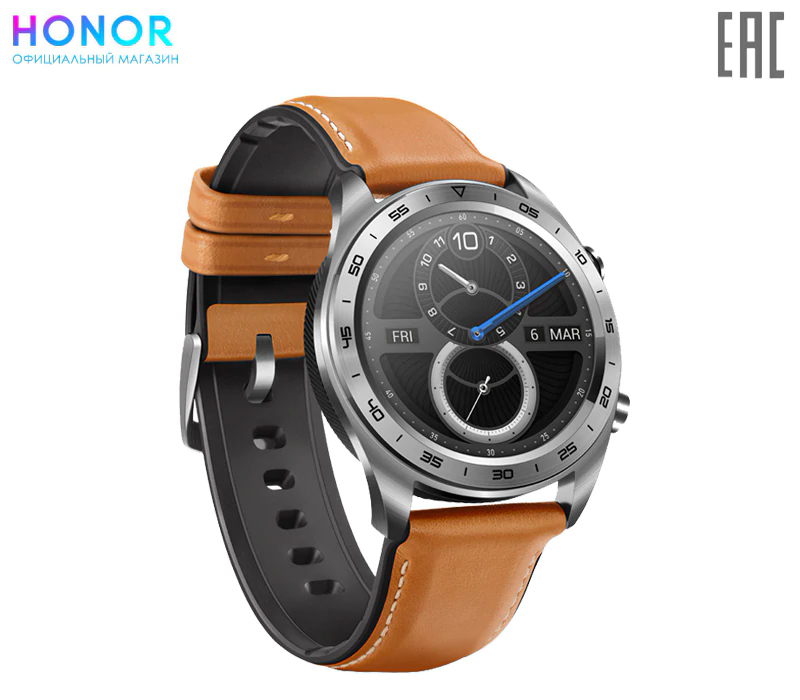 HONOR Watch Magic Leather faux leather strap charm bracelet watch