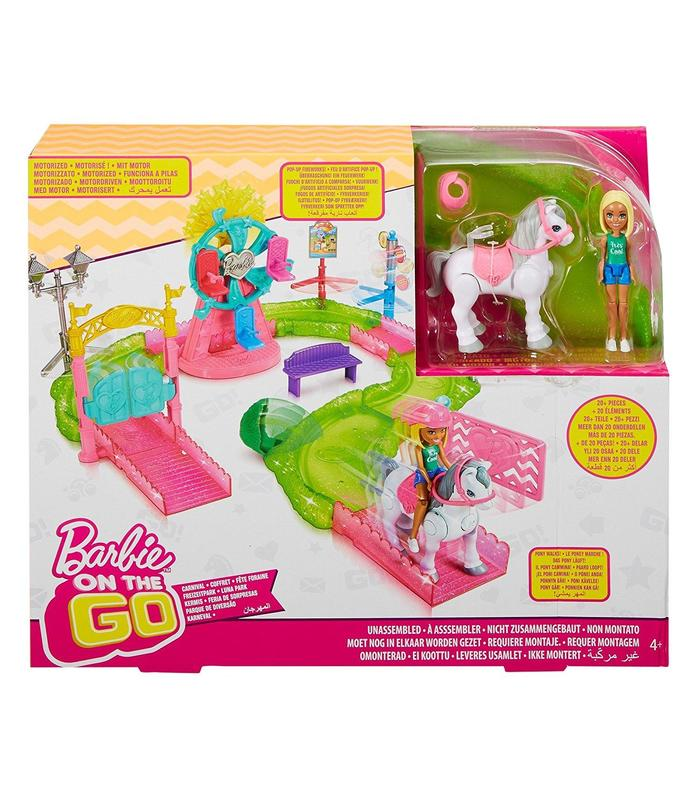 Amusement Park Barbie Included Doll Toy Store