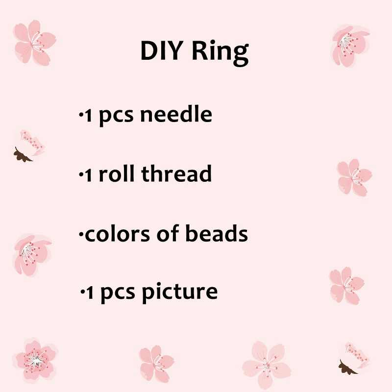 FAIRYWOO Steampunk גולגולת טבעות מיוקי חרוז טבעת אישה DIY אביזרי תכשיטי ערכת חדש הגעה יוקרה עיצוב ידידות סיטונאי