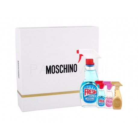 MOSCHINO THREE FRESH EDT 50ML + MINIS