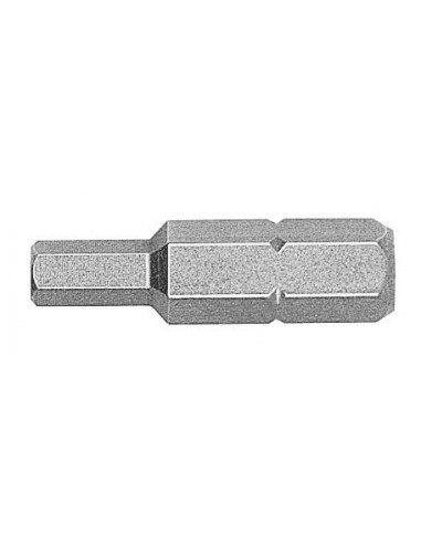 WITTE 427086 - 10 наконечников в пластиковой коробке длиной 25 мм (SW6)