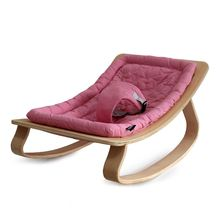 Natural Wooden or Baby bed, baby rocking chair sleeping bed cradle mother lap newborn hundred percent cotton cushion