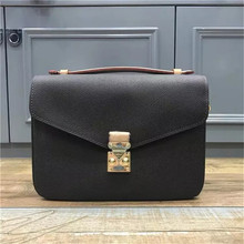 2020 women luxury real leather handbag high quality messager bag