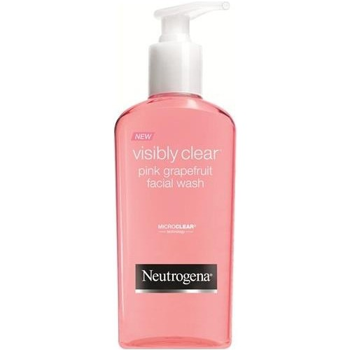 Neutrogena Pink Grapefruit Facial Cleansing Gel 200 Ml