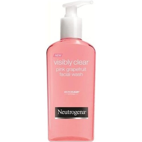 neutrogena grapefruit rosa gel de limpeza facial 200