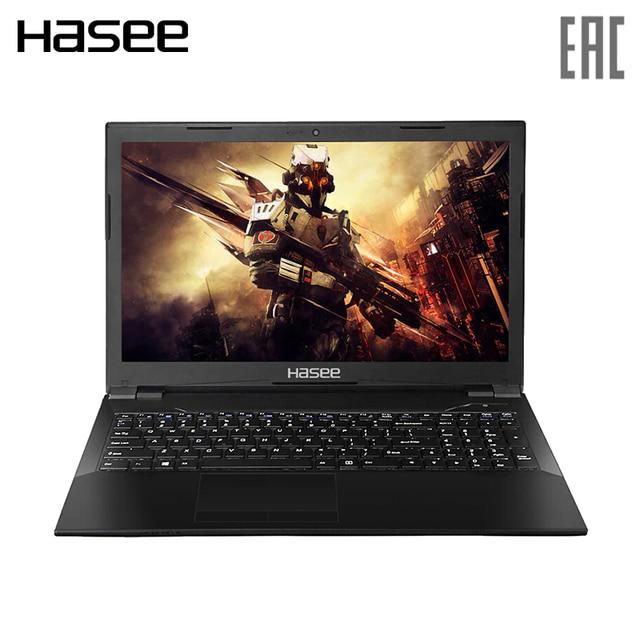 "Игровой ноутбук Hasee K670D-G4T 15.6"" IPS FHD/ G5400 3.70 GHz/ GTX1050 4ГБ/ 8ГБ/ 128ГБ SSD+1TБ HDD / Dos"