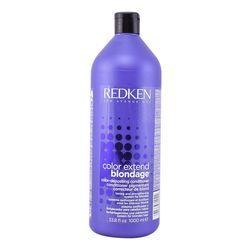 Farbe Schutz Conditioner Farbe Verlängern Blondage Redken (1000 ml)